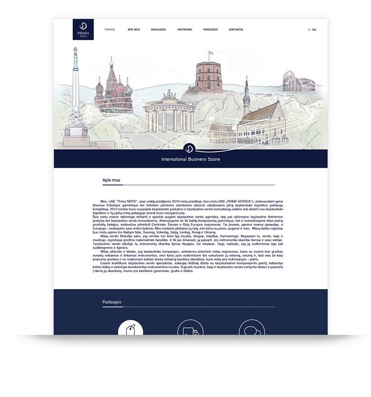 prima nota web