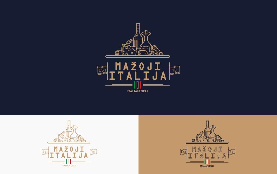 logotipas italisko stiliaus